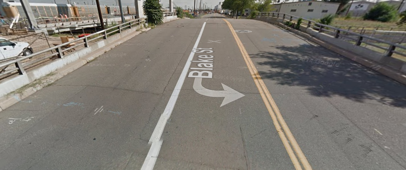 The Blake Street bridge over the 38th Street underpass will get a makeover this summer.