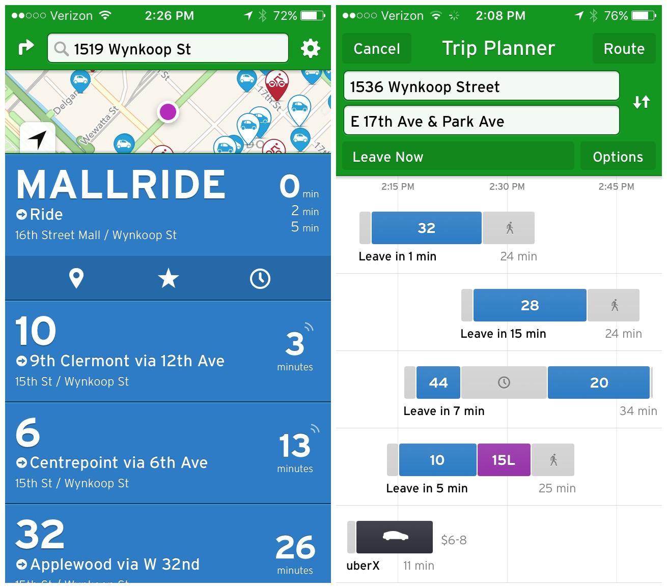 transit app rtd