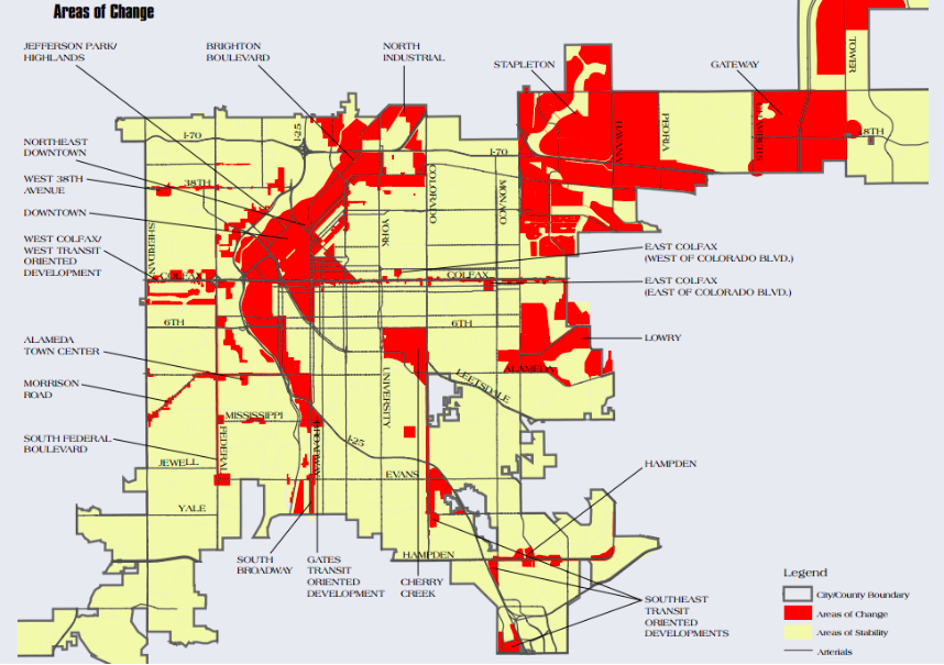 denver zoning map with How Denvers Seminal Planning Document Has Shaped Neighborhoods So Far on Acapulco Mexican Restaurant About Set For Permitting Process likewise Upper Downtown Skyhouse Denver Update 6 also Additional Tower Cranes Up In Cherry Creek moreover Plan Paris Intra Muros together with Union station.