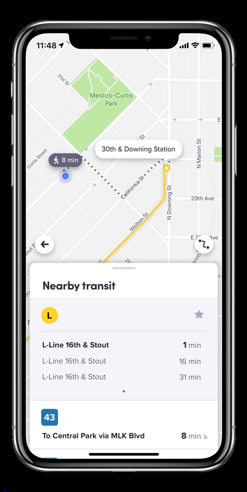 Lyft Will Offer Denver Public Transit Options in Its App
