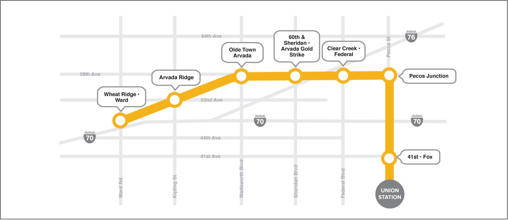 New York Subway Map G Line.The G Line From Denver To Arvada And Wheat Ridge Will Finally Open